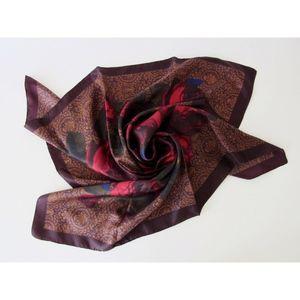 Accessories - Silk Rose Scarf
